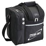 ABS ボウリング バッグ B17-310 ブラック ボール1個用バッグ ボウリング用品 ボーリング グッズ