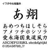 イワタ中太楷書体 TrueType Font for Windows [ダウンロード]