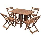 山善(YAMAZEN) ガーデンマスター バタフライガーデンテーブルセット 5点セット MFT-8185