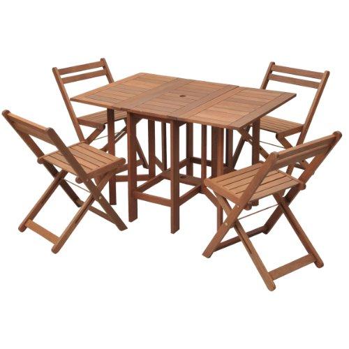 山善(YAMAZEN) :ガーデンマスターバタフライガーデンテーブルセット 5点セット MFT-8185