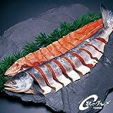 お歳暮 贈答 【送 料 込】 銀毛新巻鮭 2.5kg ( 一切れ 真空包装 姿戻し )北海道 秋鮭 【 海鮮市場 北のグルメ 】 送 料 込 み [その他]