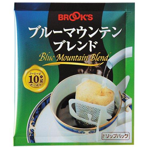 ブルックス ドリップバッグ コーヒー ブルーマウンテンブレンド 10g×50袋