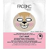 爪が株式会社顔猫の昼寝用マスク x2 - Nails Inc. Face Inc Cat Nap Mask (Pack of 2) [並行輸入品]