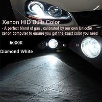 FidgetGear Xenon Replacement Lights HID 55W Kit High Beam 9005 HB3 9011 9040 9045 9055 Z1 Diamond White (6000K) H7