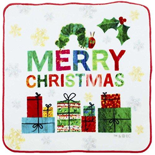 プチタオル はらぺこあおむし クリスマス 25×25cm PE453300