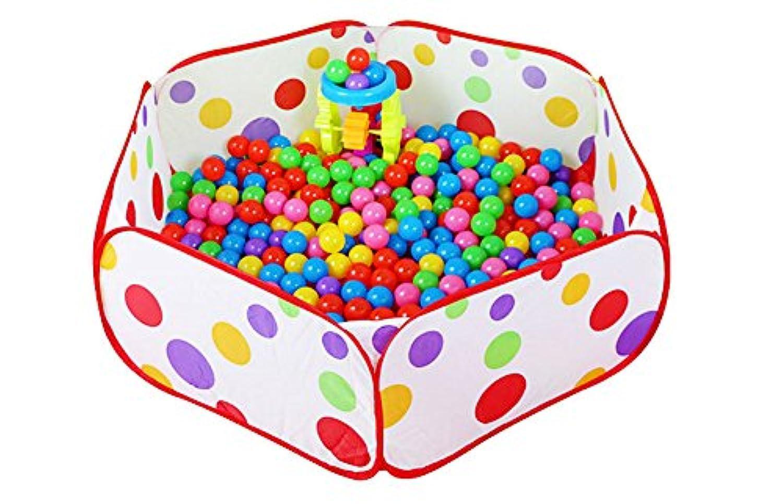 Gespout ベビーサークル 折りたたみ 拡張 マット付き ボールプール ボールハウス キッズハウス 子供用テント 屋内遊具 キッズプレイルーム クリスマス 誕生日 プレゼント 贈り物 人気