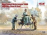 ICM 1/24 ベンツ パテント モトールヴァーゲン 1886 w/Mrs.ベンツ&サンズ プラモデル 24041
