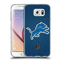 オフィシャル NFL フットボール デトロイト・ライオンズ ロゴ Samsung Galaxy S6 専用ソフトジェルケース