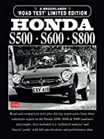HONDA S500 S600 S800 LIMITED EDITiON (Brooklands Road Test Books)