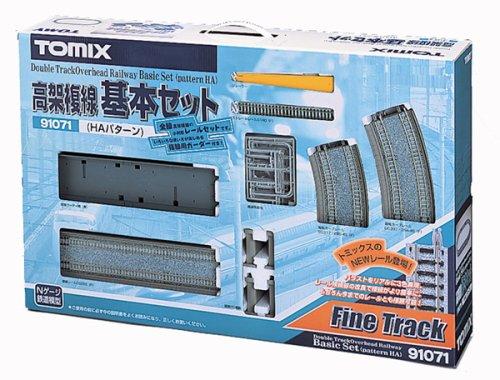 Nゲージ関連用品 高架複線基本セット (HAパターン) 91071
