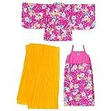 ハローキティ サンドレス浴衣(ピンク) 110cm