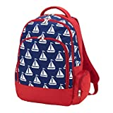 crocs ガールズ (Blank, Blue Sail Boat) - Reinforced Design Water Resistant Backpack