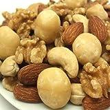 【新鮮 高品質 自慢の美味さ】無塩 無油 完全無添加 4種類の素焼ミックスナッツ(くるみ入り)1kg