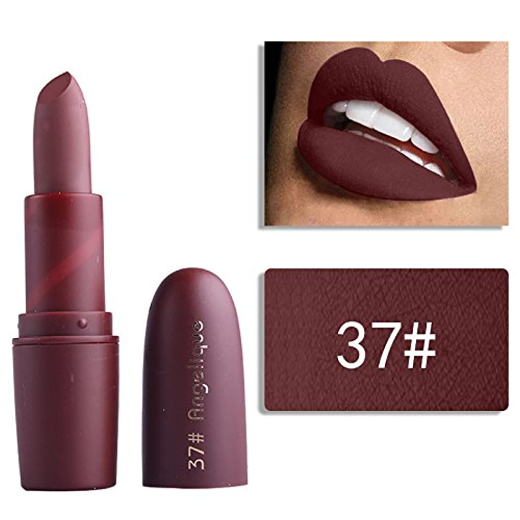 全能ポーチスチュワードMiss Rose Nude Lipstick 22 colors Waterproof Vampire Brown Beauty Baby Lips Batom Matte lipstick Makeup Tats Eugenie...