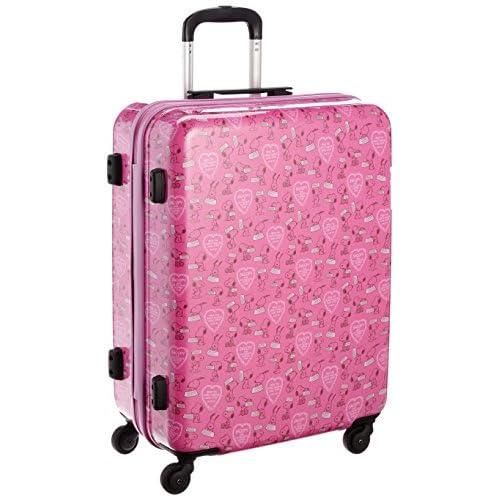 [スヌーピー] SNOOPY スヌーピーキャリーケースM 2SN6-58H ピンク (ピンク)