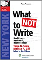 What Not to Write: Real Essays, Real MPT's, Real Feedback (LawTutors New York Bar Exam Essay Books)