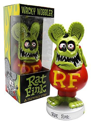 RoomClip商品情報 - FunKo(ファンコ) Rat Fink(ラットフィンク) ボビングヘッド グリーン [並行輸入品]