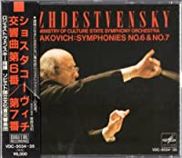 ショスタコーヴィチ:交響曲第6番・第7番