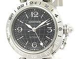 [カルティエ]Cartier【CARTIER】カルティエ パシャC メリディアン GMT ステンレススチール 自動巻き ユニセックス 時計W31079M7(BF305731)[中古]