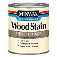 Minwax 618064444 Water-Based Wood Stain, quart, White Oak, Tint Base [並行輸入品]