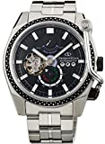 [オリエント]ORIENT 腕時計 ORIENT STAR オリエントスター ターンテーブルモデル 機械式 自動巻き(手巻き付き) ブラック WZ0241DK メンズ