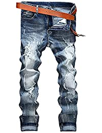 [プチドフランセ ] デニム メンズ ジーンズ ファッション デニムジーンズ