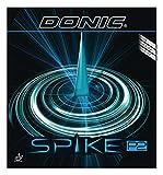 DONIC(ドニック) 卓球 スパイク P2 (塩野真人選手との共同開発商品)粒高ラバー レッド 1.0 AL074