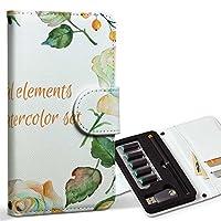 スマコレ ploom TECH プルームテック 専用 レザーケース 手帳型 タバコ ケース カバー 合皮 ケース カバー 収納 プルームケース デザイン 革 フラワー 英語 文字 009646
