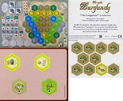 ブルゴーニュのカースト制度: The 2nd 4th 5th拡張バンドル–Monastary、Pleasureガーデン、新しい六角タイル