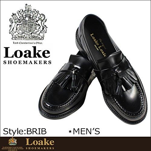 (ローク)Loake BRIGHTON POLISHED TASSEL LOAFER BRIB ブライトン ローファー タッセルローファー ブラック UK8-26.5 (並行輸入品)