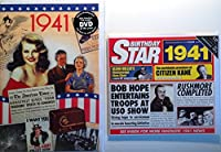 1941 Birthday Gifts Pack - 1941 DVD Film , 1941 Chart Hits CD and 1941 Birthday Card