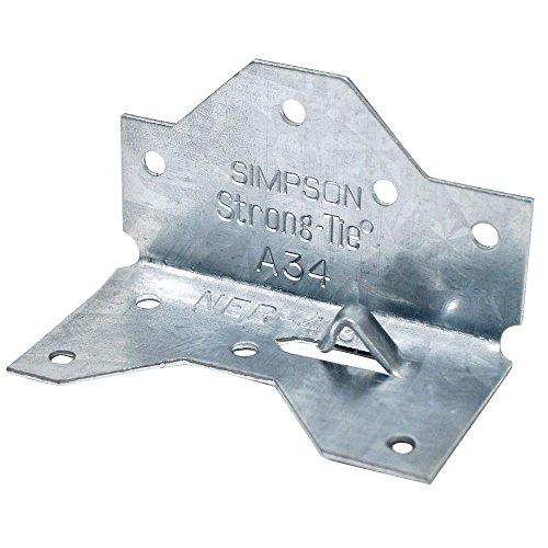 シンプソン 2X4金具 フレーミングアンカー A34 53-603