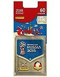 FIFA Worldcup Russia 2018 Sticker Blisterpack mit 12 Tueten: Weltmeisterschaft Russland 2018