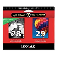 Lexmark 18C1590 28 29 Combo Pack Blk Color [並行輸入品]