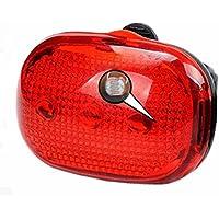 Auntwhale LED自転車マウンテンテールランプ LD-11サイクルリアライトリフレクターアクセサリー MTB BMXマウンテンロードバイクサイクリング用 贈り物 ( 1個 )