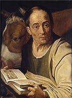 ' Wolfordt Artur San Lucas '油絵、16x 22インチ/41x 55cm、高品質の印刷ポリエステルキャンバス、この高品質アート装飾キャンバスプリントは、ダイニングルームの装飾およびギフトにピッタリ