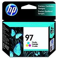 HP 97 Tri-color Original Ink Cartridge - Color - Inkjet - 450 Page by Hewlett Packard Supplies (La) [並行輸入品]