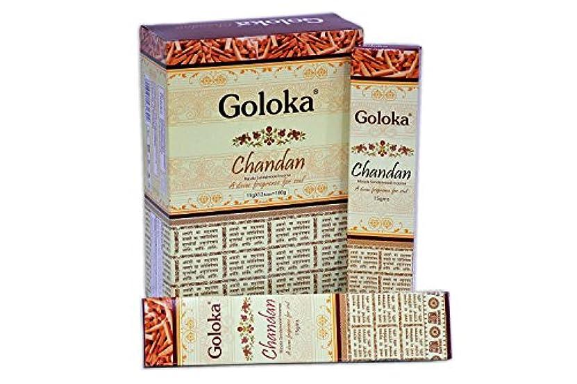 トレイル見る一過性GolokaプレミアムシリーズコレクションHigh End Incense sticks- 6ボックスの15 gms (合計90 gms)
