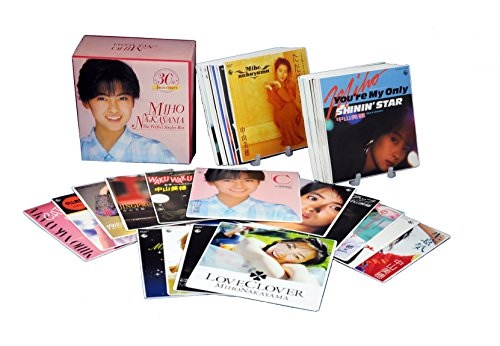 中山美穂 30th Anniversary THE PERFECT SINGLES BOX(DVD付) CD+DVD, Limited Edition