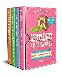 The Comfort Cakes Cozy Mystery Box Set: Books 1-4, Culinary Cozy Mysteries by [McGovern, Nancy]
