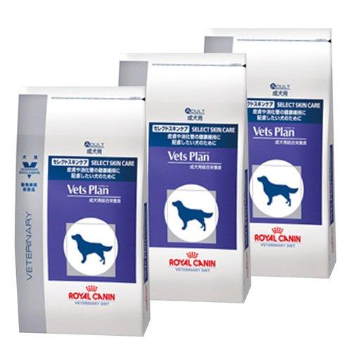 【3袋セット】ロイヤルカナン ベッツプラン 犬用 セレクトスキンケア 3kg...