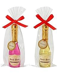 【96本セット販売(2色取混ぜ)】シャンパンハンドソープ イエロー?ピンク2色取混ぜ