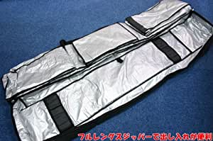 OGASAKA(オガサカ) スキーケース ALL IN ONE スキー用品1式収納可能 キャスター付 オールインワン スキーバッグ