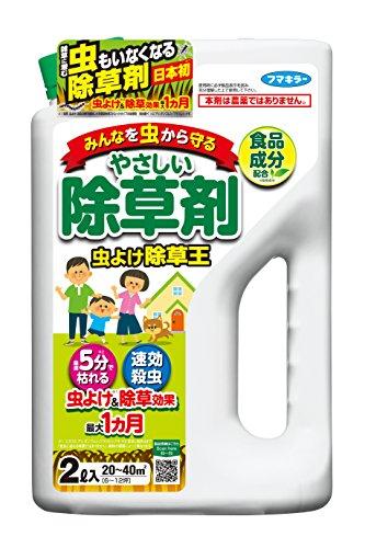 カダン 除草剤 食品成分由来・虫よけ効果も 除草王 2L