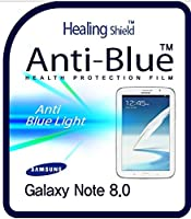 Healingshield スキンシール液晶保護フィルム Eye Protection Anti UV Blue Ray Film for Samsung Tablet GalaxyNote 8.0 [Front 1pc]