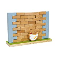 Wobbling壁バランスと建設ゲーム–サイズ約25x 7,5X 17cm