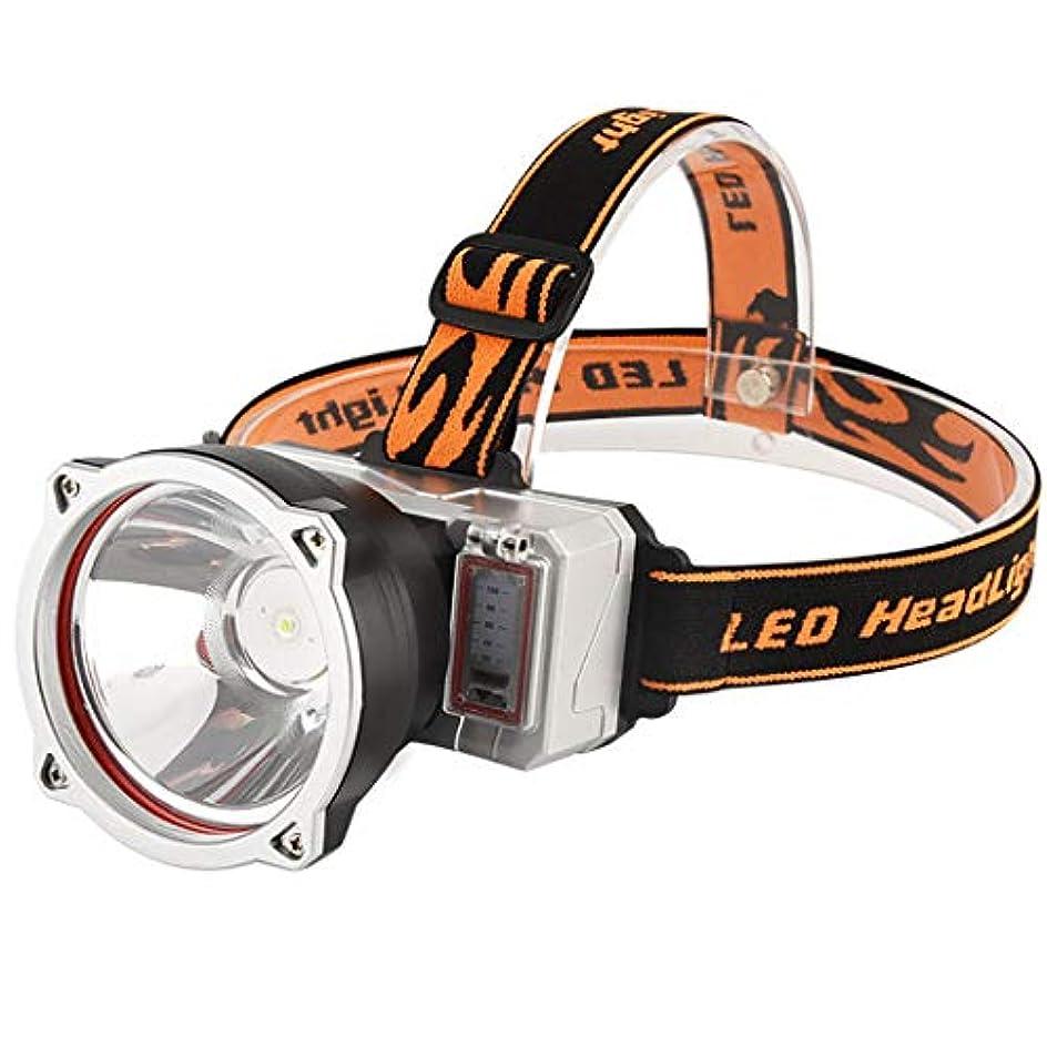 とげマッサージ階層HSBAIS ヘッドライト、USB 充電式 ヘッドランプ 高輝度 防水 軽量 ヘルメットライト、こども 登山,black