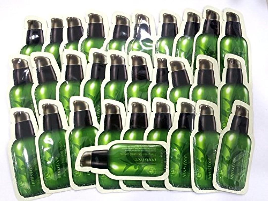 クリエイティブ昇るそのようなイニスフリー[Innsfree]グリーンティーシードセラム[the Green Tea Seed serum] 1ml x30pcs, [海外直送品][並行輸入品]