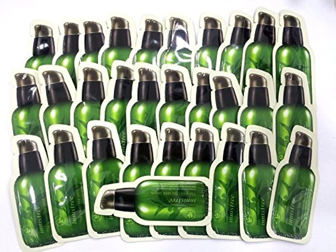 ウェブ櫛ダメージイニスフリー[Innsfree]グリーンティーシードセラム[the Green Tea Seed serum] 1ml x30pcs, [海外直送品][並行輸入品]