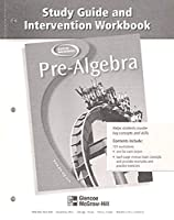 Pre-Algebra, Study Guide and Intervention Workbook (MERRILL PRE-ALGEBRA)